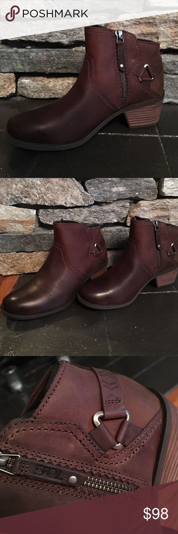 Brand New Teva Foxy Brown Ankle Boots Brand New never worn before Teva Foxy Ankle Boots. Original Packing included. Size 7. Teva Shoes Ankle Boots & Booties
