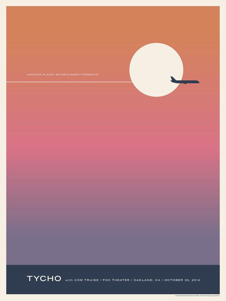 Tycho Poster by Jason Munn