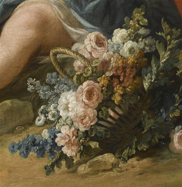 Vertumne et Pomone    Boucher François (1703-1770): Françoi 17031770