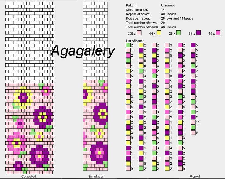 Bead Crochet Ropes Patterns Eridhan Creations Beading Tutorials