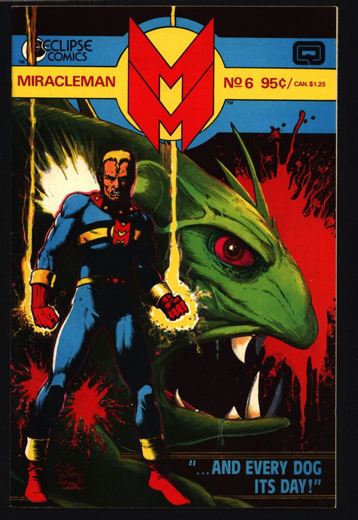 MIRACLEMAN Marvelman #6 eclipse comics 1985 ALAN MOORE John Ridgway Chuck Beachum Anti-Superhero Kid Family Dr. Gargunza Alan Davis