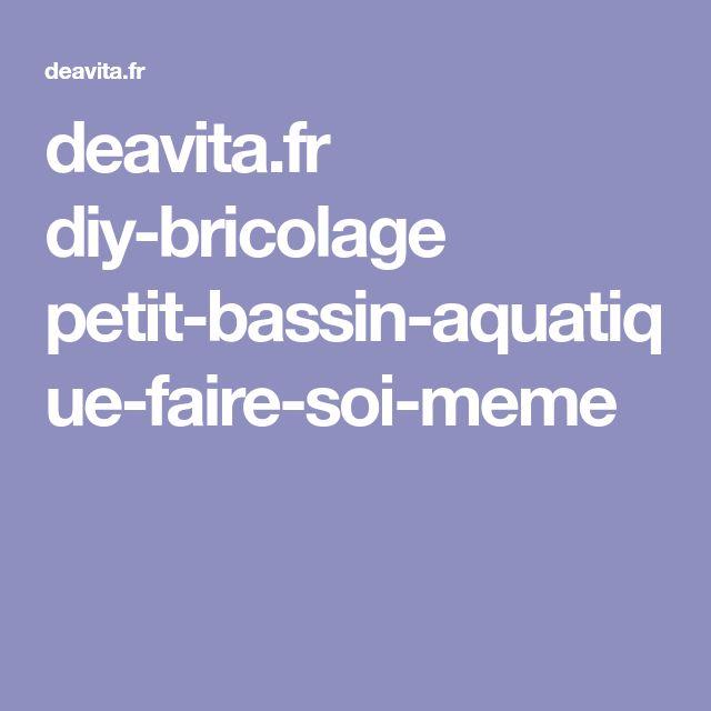 deavita.fr diy-bricolage petit-bassin-aquatique-faire-soi-meme