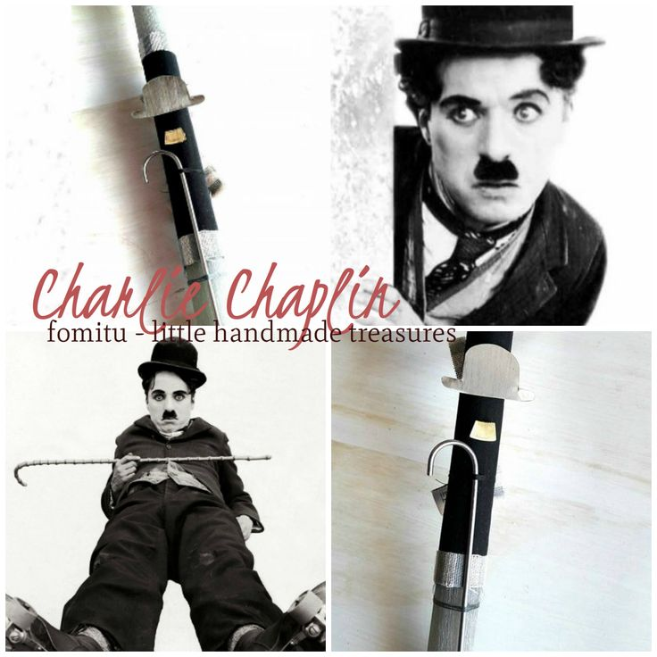 Α candle dedicated to Charlie Chaplin, the smartest silly man of old cinema... Find it on Fomitu.gr