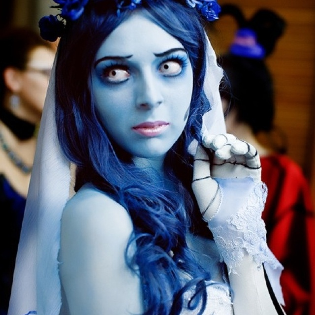 how to draw the corpse bride face