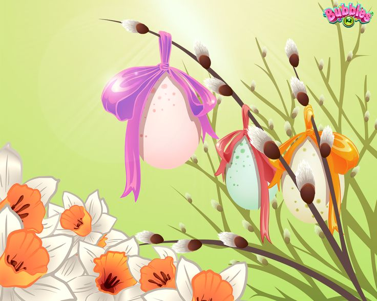 Easter theme. Check out our latest backgrounds & themes and join the bubble poppin' fun! Play #BubblesIQ: www.bubblesiq.com