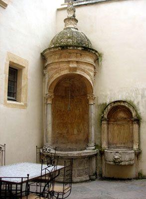 Vieux Lyon - Maison du Chamarier - puits