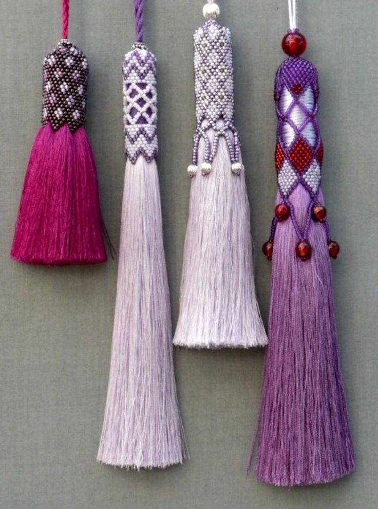 Embellished Silk Tassels