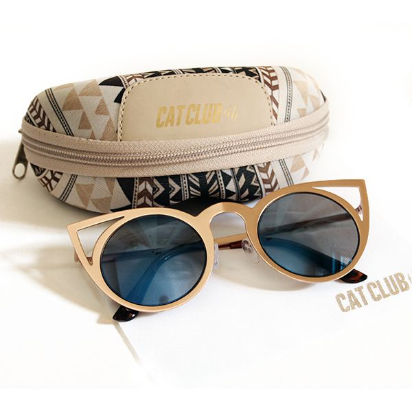 Óculos de gatinha