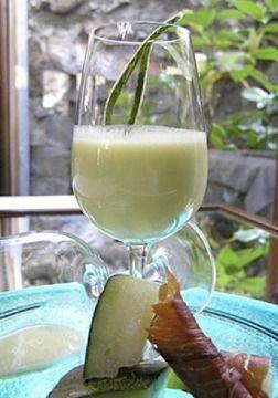 Receta: Gazpacho de melon