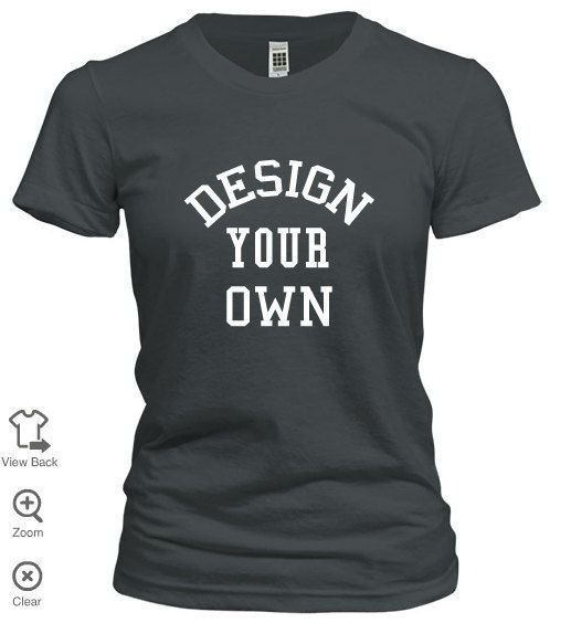 Design your own Tee! by ForeverPazCustomT on Etsy