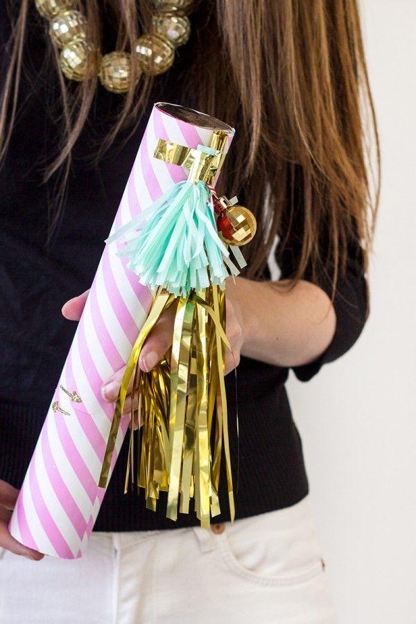 DIY Confetti Cannon Makeover   studiodiy.com