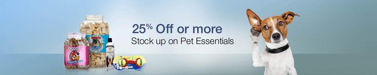 Amazon Offers Upto 40% Off On Pet Supplies - http://www.grabbestoffers.com/coupon/amazon-pet-supplies/