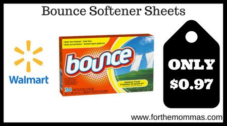 """Join 11 people right now at """"Walmart: Bounce Sheets ONLY $0.97 - FTM"""""""