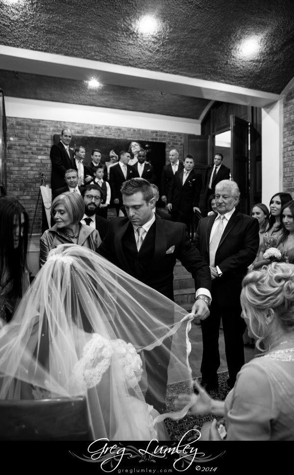 Jewish Wedding.  Bedeken at Lourensford Wine Estate.