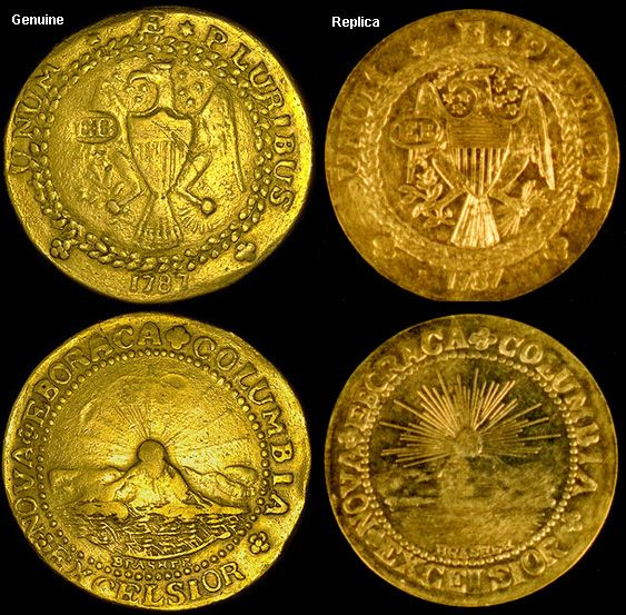 Coin Value US Brasher Doubloon 1787 Coin values, Coins