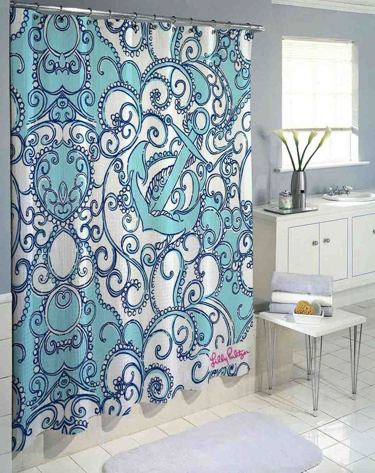 """New Rare Blue Anchor Lilly Pulitzer High Quality Custom Shower Curtain 60""""x72"""" #Unbranded #Modern #fashion #Style #custom #print #pattern #modern #showercurtain #bathroom #polyester #cheap #new #hot #rare #best #bestdesign #luxury #elegant #awesome #bath #newtrending #trending #bestselling #sell #gift #accessories #fashion #style #women #men #kid #girl #birthgift #gift #custom #love #amazing #boy #beautiful #gallery #couple #bestquality #lillypulitzer #blueocean #anchor"""