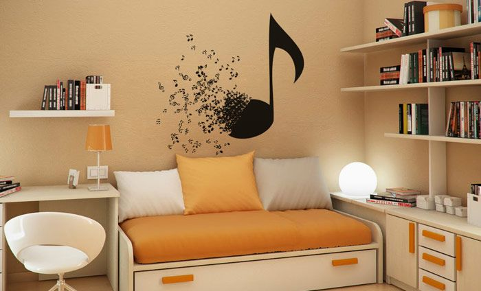 M s de 1000 ideas sobre decoraci n de pared musical en for Vinilos decorativos grupos musicales