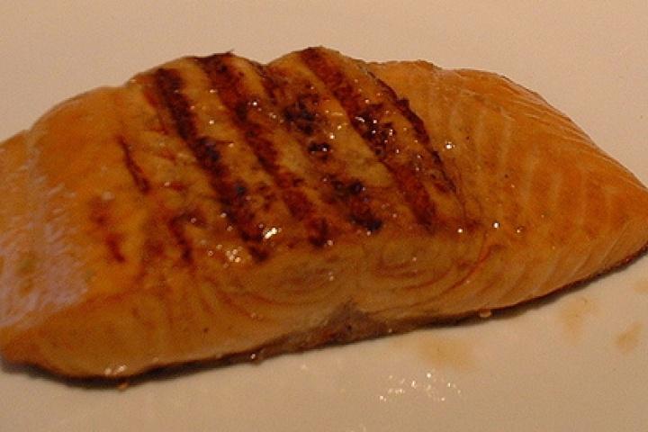 Marinated salmon, Salmon and Recipe on Pinterest