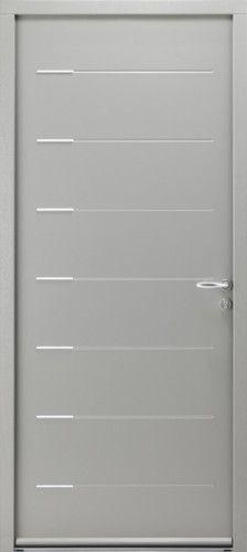72 best images about portes acier bel 39 m on pinterest Poignee porte contemporaine