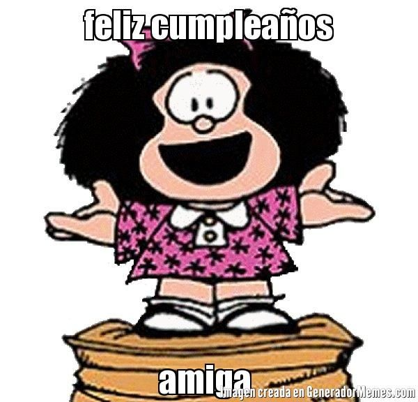 Resultado de imagen para mafalda cumpleaños