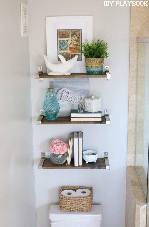 Best 25+ Shelves over toilet ideas on Pinterest | Bathroom ...
