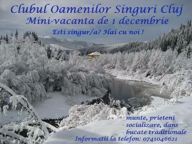 Vacanta 1 decembrie la munte. Cluj-Napoca - Anunturi gratuite - anunturili.ro