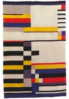 One of the best known textile artists of the 20th century, Anni Albers truly was the boss. Studying at the great Walter Gropius' Bauhaus she met and later marr