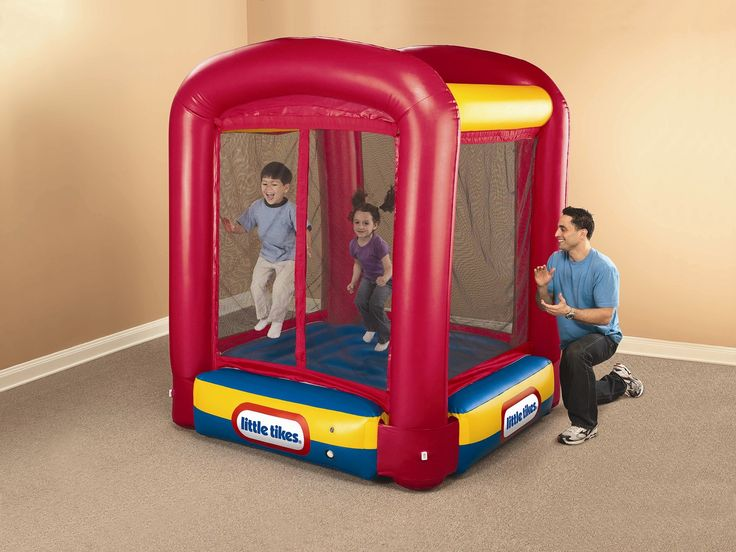 Little Tikes Trampoline Bounce House & Reviews | Wayfair (small bouncy for the 2 of them)