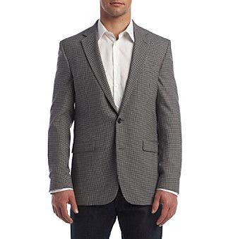 Kenneth Cole New York® Men's Slim Fit Mini Check Sport Coat