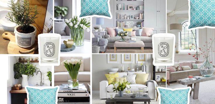 Wiosenna dekoracja w domu <3 #interior #home #design