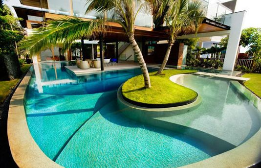 Lazy river in your backyard.