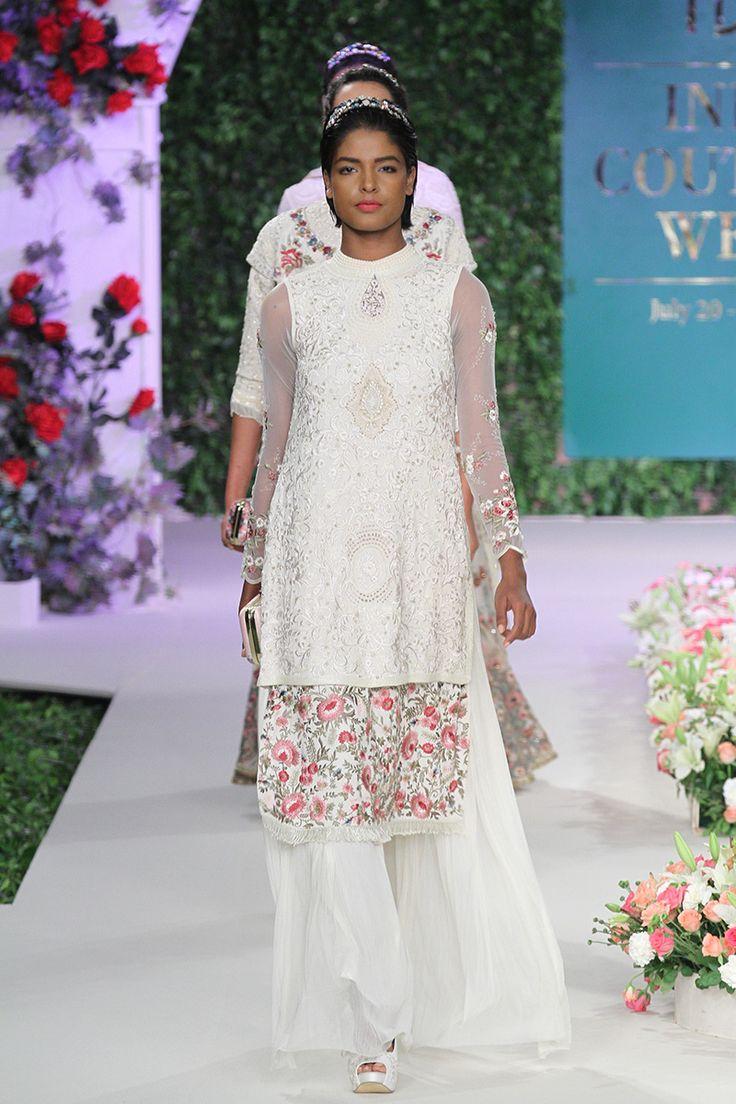 By designer Varun Bahl. Shop for your wedding trousseau, with a personal shopper & stylist in India - Bridelan, visit our website www.bridelan.com #Bridelan #weddinglehenga #VarunBahl #IndiaCoutureWeek2016