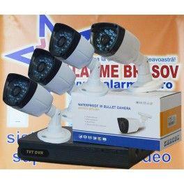 PROMO !!! Kit supraveghere video 4 camere