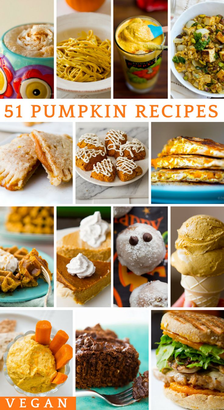 Best Vegan Pumpkin Recipes for fall. Dinner, lunch and breakfast ideas for fall, all infused with pumpkin-y bliss. Plant-based, gluten-free friendly.