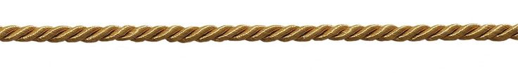 "16 Yard Value Pack of Small 3/16"" Gold, Basic Trim Decorative Rope, Style# 0316NL Color: Gold - C4 (50 Feet / 15M)"