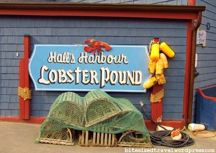 Halls Harbour Lobster Pound #NovaScotia