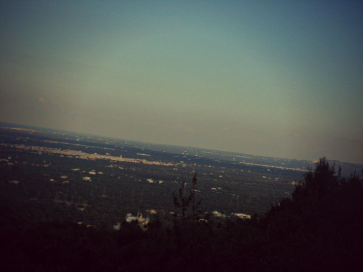 Panorama dalle colline.