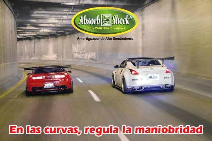 •En las curvas regula la maniobrabilidad: proporciona sensación de estabilidad en las curvas al no trasladar el cerramiento que generan los amortiguadores  al coger una curva, dándole nivel al lado donde se ejerce la fuerza de la curva.