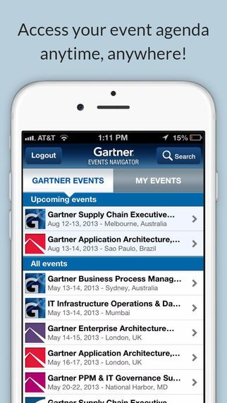 Gartner Events by Gartner, Inc.