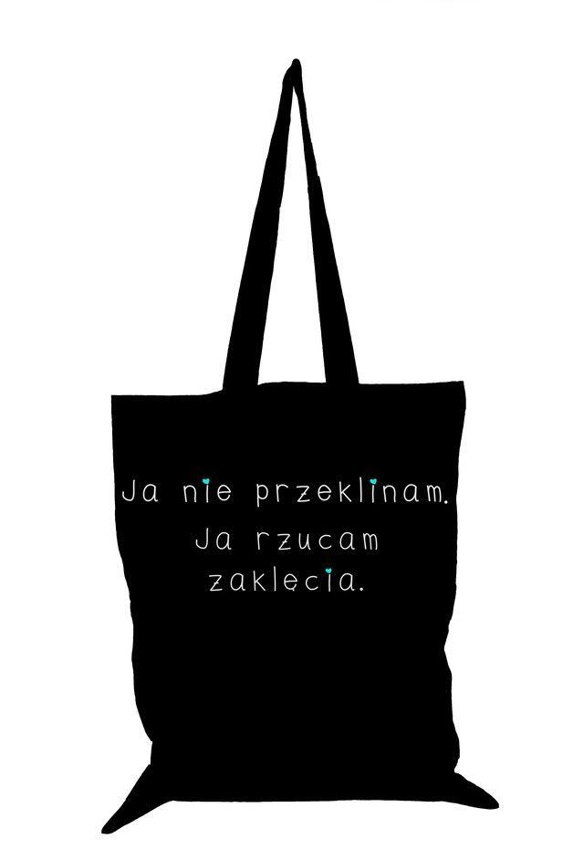 Torba Eko bawełniana Ja nie przeklinam - Tailormade24 - Torby na ramię