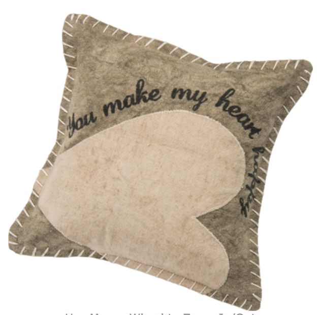 You Make My Heart Happy Pillow