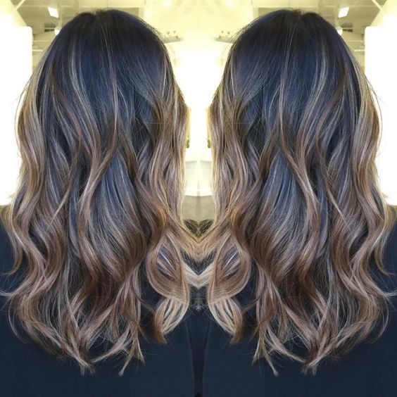 Best 25 balayage on black hair ideas on pinterest ombre on light brown balayage for black hair urmus Gallery