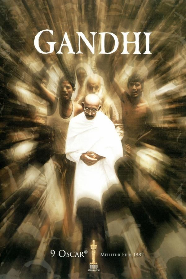Gandhi    Support: BluRay 1080    Directeurs: Richard Attenborough    Année: 1982 - Genre: Drame / Histoire - Durée: 190 m.    Pays: India / United Kingdom - Langues: Français, Anglais    Acteurs: Ben Kingsley, Rohini Hattangadi, Candice Bergen, Roshan Seth, Om Puri, Saeed Jaffrey, Alyque Padamsee, Martin Sheen, Amrish Puri, Ian Charleson, Edward Fox, Geraldine James, Daniel Day-Lewis, John Gielgud, Trevor Howard, John Mills, Athol Fugard...