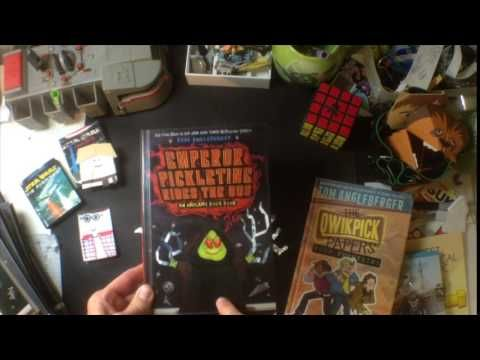 Emperor Pickletine Rides the Bus: An Origami Yoda Book - YouTube