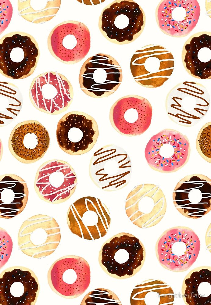 Donuts For Days by Donut background