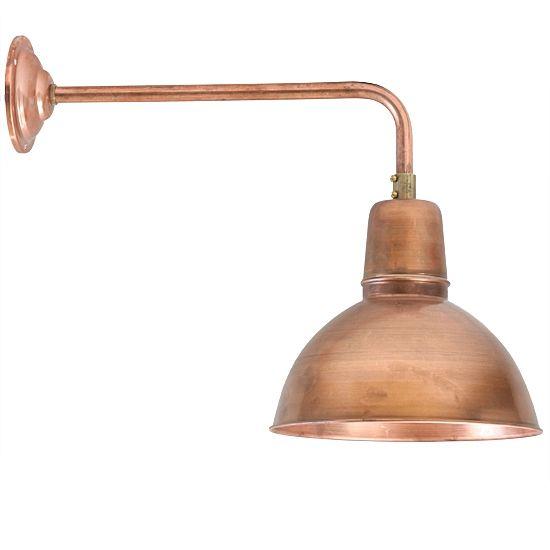 New Klassische Wandleuchte K ln Kupfer RO im Bauhaus Stil von Bolich Leuchten