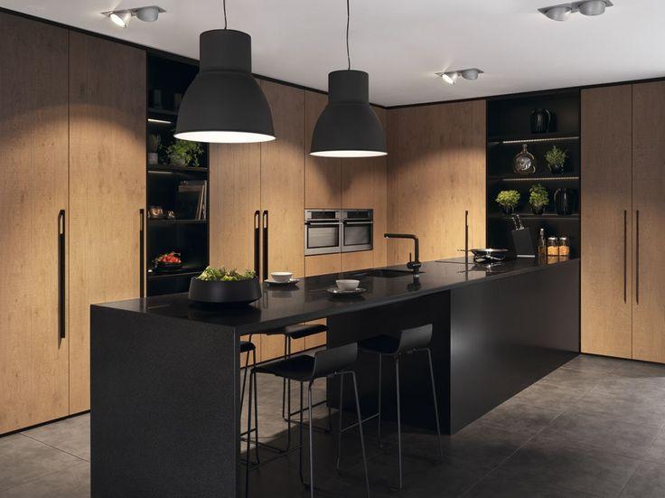 Bilderesultat for svart matt kjøkken