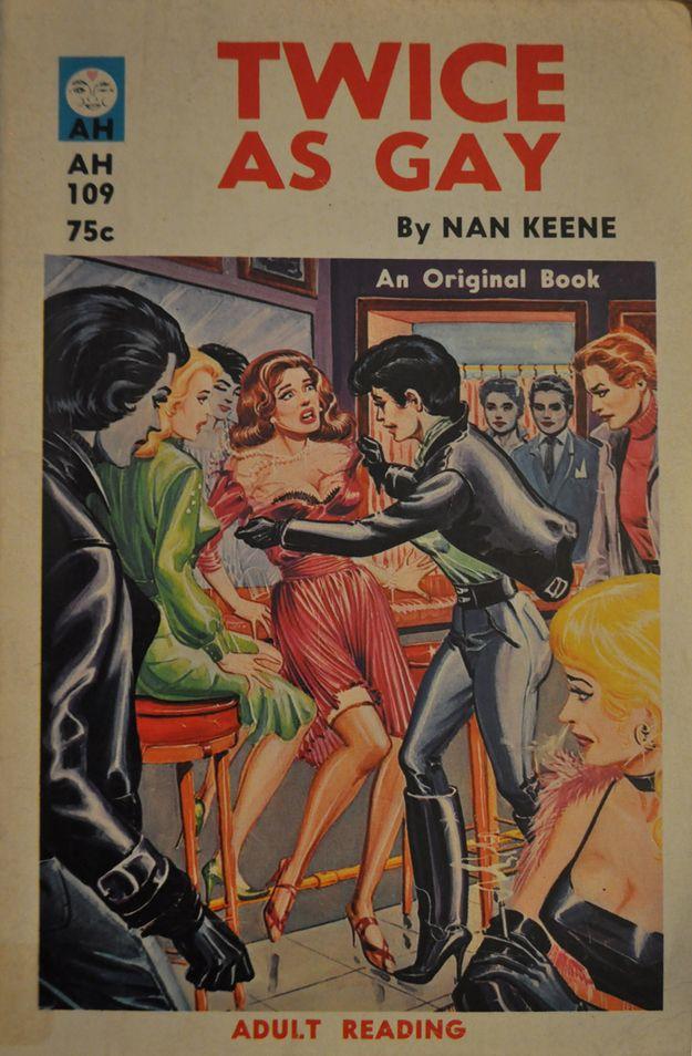Twice As Gay | Peek Inside 22 Vintage Lesbian Pulp Novels