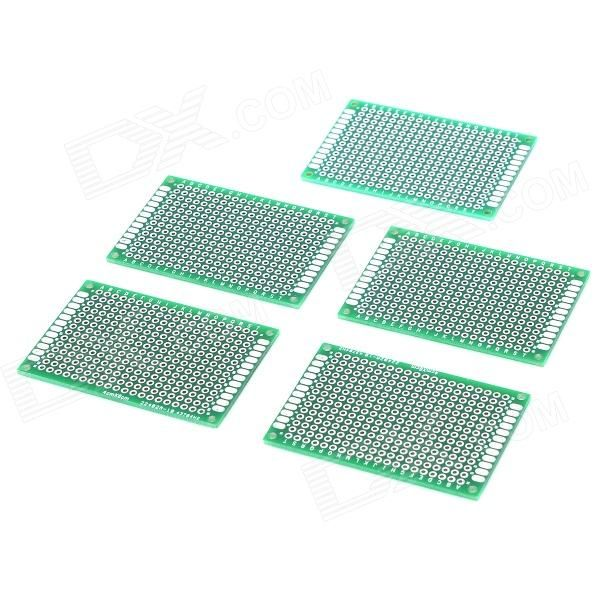 Aperture: 0.95mm; thickness: 1.6mm; hole center distance: 2.54mm http://j.mp/1toAzGj