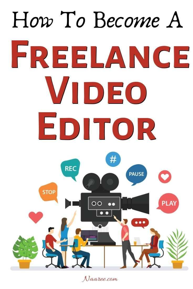 How To Become A Video Editor And Start A Video Editing Career Editing Jobs Video Editing Video Editor